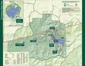 Tn State Parks Map by Chickasaw State Park Tennessee State Parks