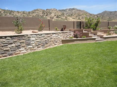 landscaping albuquerque nm retaining and landscape wall albuquerque nm photo gallery landscaping network
