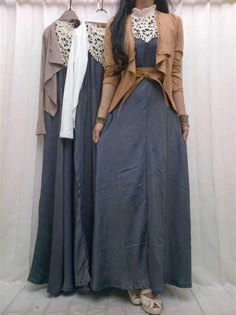 Model Baju Muslim Gamis Terbaru Dan Modern Lk Pikura Kemeja rumah cantik muslimah koleksi gamis and dress terbaru