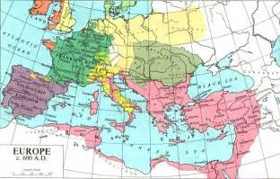 Map Of Medieval Europe by Europe In The Middle Ages From 500 Ad 1500 Ad