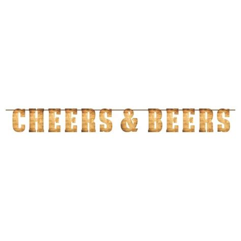 Closing Letter With Cheers cheers beers letter banner target