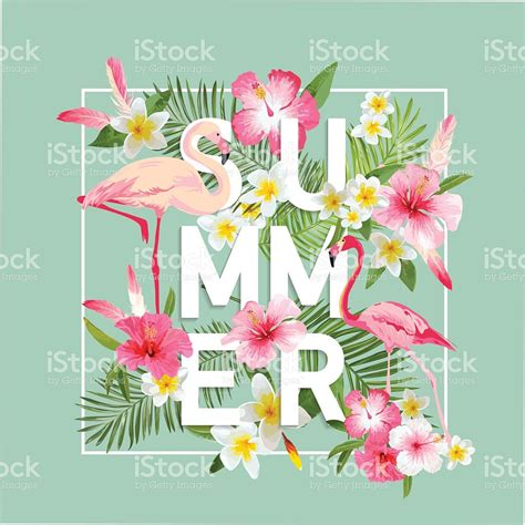 romantic flower background vector vector flower free vector free fondo de flores tropicales dise 241 o de verano vector de