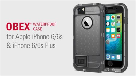 r iphone 6 waterproof seidio obex 174 waterproof for iphone 6 6s iphone 6 6s plus