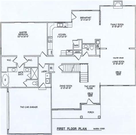14 X 14 Kitchen Floor Plans Home Models Marra Homes