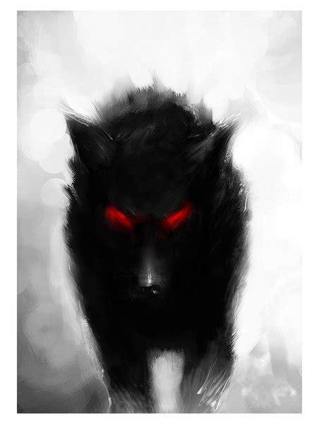 wolf with black wolf with by amberthekillerwolf on deviantart