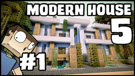 minecraft modern house 1 inspiration w keralis youtube minecraft lets build modern house 5 part 1 youtube