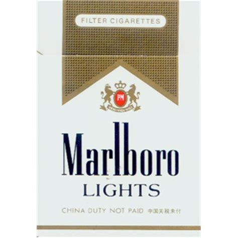 Marlboro Lights by Still Don T Get Plain Packaging Ideologically Impure