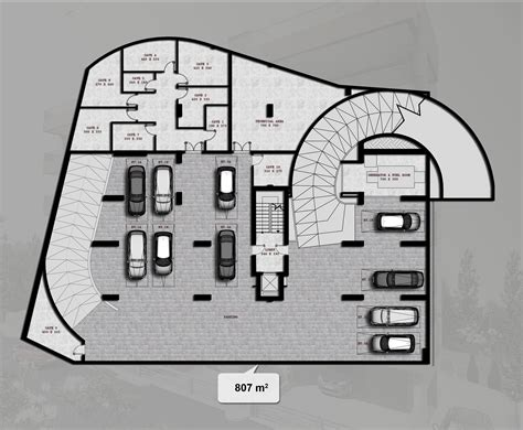 underground parking section basement parking detail section www pixshark com