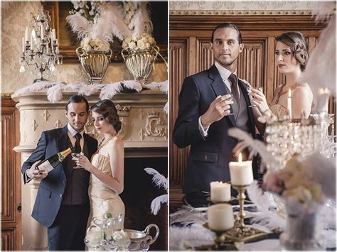 wedding themes great gatsby great gatsby wedding inspiration at chateau challain