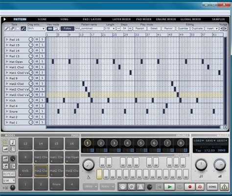 same pattern as drum how to rip a drum pattern using reaper daw 187 4irmann s