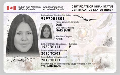canadian id card template identification requirements province of columbia