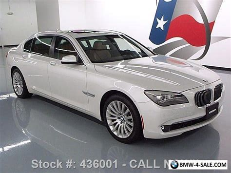 bmw 750li xdrive for sale 2012 bmw 7 series 750li xdrive awd seat pkg sunroof
