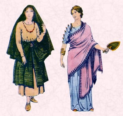 roman costume history | roman women hairstyles and dress