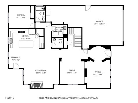 2d floor plan 2d floor plans from the 3d showcase tour it now san diego