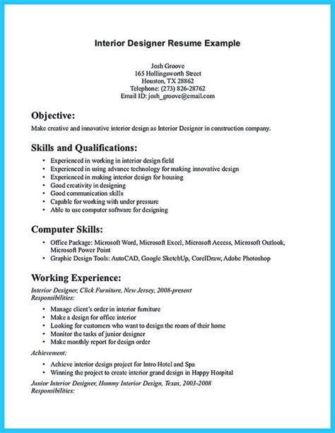 resume explanation proposals architects and resume on