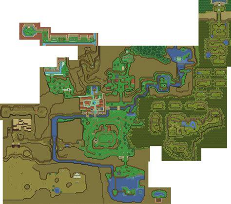 legend of zelda map sprites el mundo de ocarina of time luce mejor con sprites de a