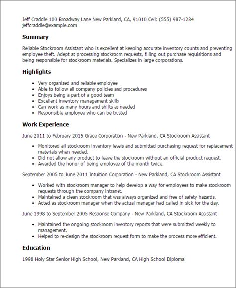 ac uk cover letter professional stockroom assistant templates to showcase