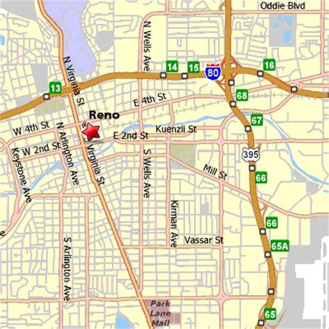 reno map reno hotels harrahs casino hotel reno general reservations