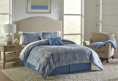 blue and gold comforter set essential home medallion comforter set blue gold home