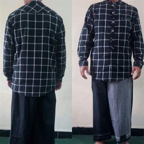 Baju Kurta Lengan Panjang Samase 9071 0 Pdk Warna Abu baju koko samase 2034 koko flanel hitam kcg pjg samase