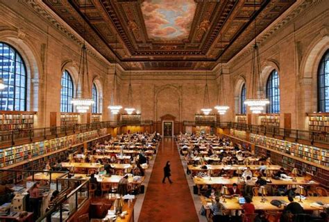new york library reading room one for the books ny daily news
