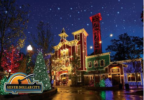 silver dollar city lights celebrate an at silver dollar city