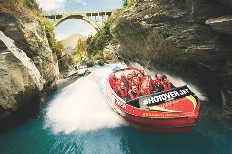 shotover river jet boat ride new zealand shotover jet new zealand backpacking travel guide by stray