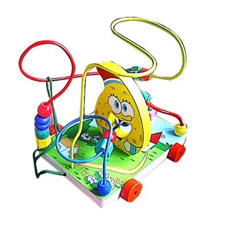 Balok Umum 110pcs wiregame 3 line spongebob toko mainan anak