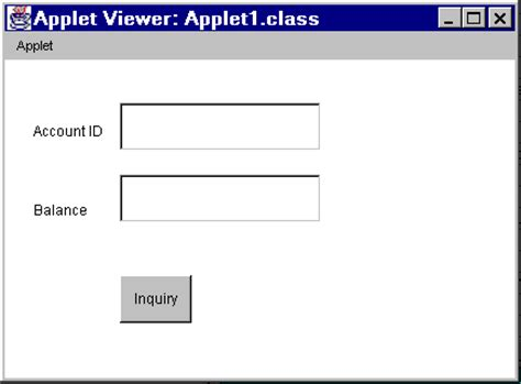 form design in java applet using joltbeans