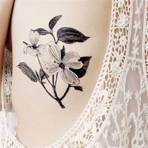 dogwood flower tattoo designs 90 dogwood flower designs and meaning