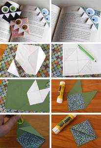 Paper Bookmarks To Make - 25 creative diy bookmarks ideas