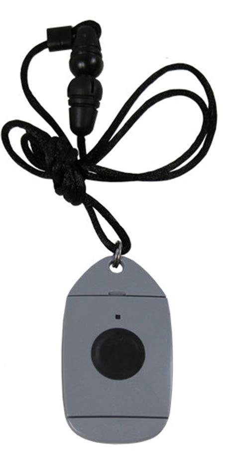 emergency alert response necklace for elderly