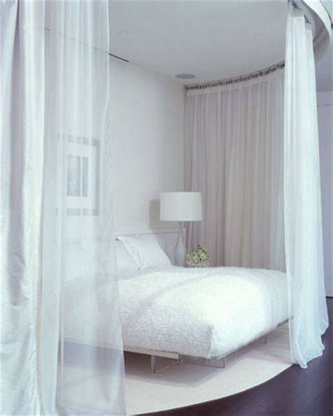 sheer curtains over bed 1000 ideas about curtains around bed on pinterest dark