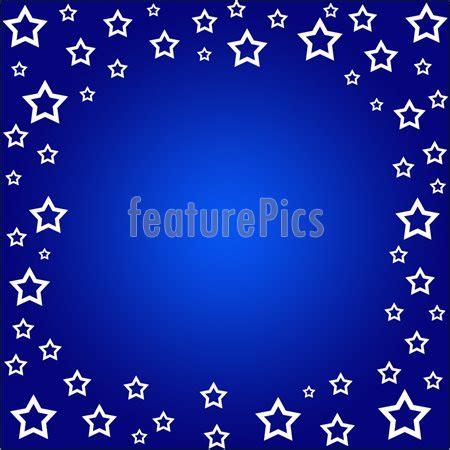 templates: stars border on blue stock illustration