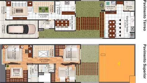 planta baixa de casas 5 modelos de plantas de casas geminadas plantas de casas