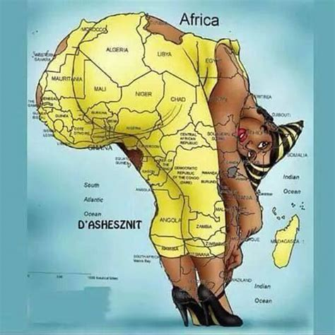 just for laugh:nigeria's position on the africa map says