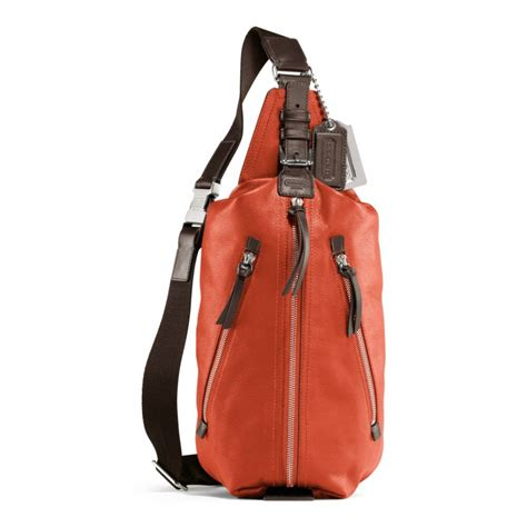 Coach Cus Sling Backpack 1 coach thompson leather sling pack in orange persimmon lyst