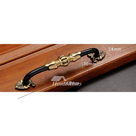 5 inch brass cabinet pulls antique brass 5 6 5 inch antique cabinet pulls black gold
