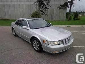 2000 Cadillac Seville Sts For Sale 2000 Cadillac Sts Seville Sedan For Sale In Toronto