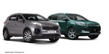 kia sportage vs ford kuga 183 new suvs cars special