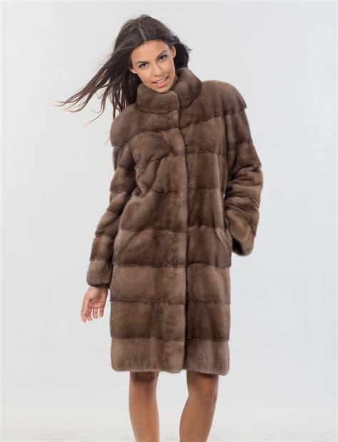 Mink Coat mink pastel fur coat 100 real fur haute acorn