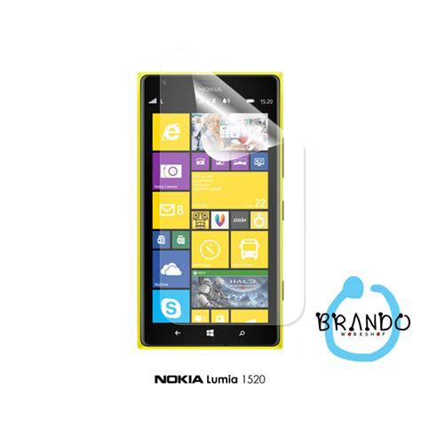 Anti Glare Nokia Lumia 1520 brando workshop anti glare screen protector nokia lumia 1520