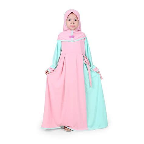 Baju Muslim Anak Perempuan Gemuk jual baju muslim anak perempuan jersey mint bajuyuli