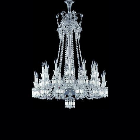 baccarat chandeliers chandelier clear 24l baccarat zenith 2606575