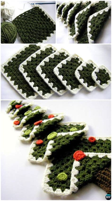 granny christmas tree pattern crochet christmas trees crochet christmas and free