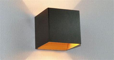 design wandleuchten led led wandleuchte aldrina schwarz innen gold wandle