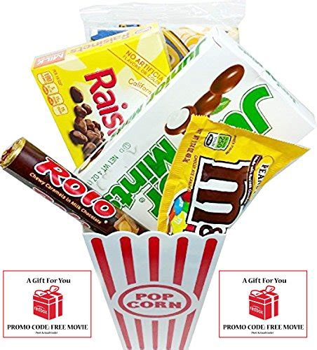 Redbox Movie Rental Gift Cards - movie night popcorn candy and redbox movie gift basket includes movie theater