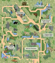 Woodland Park Seattle Map by Woodland Valley Zoo Map Nb I Made This Map Using