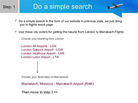 awful ways to get cheap flights to marrakech