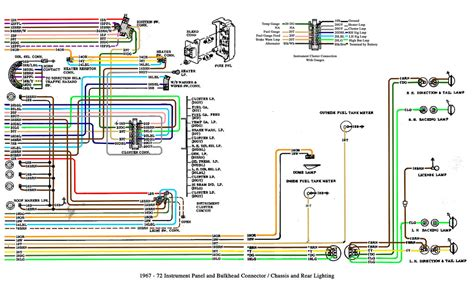 1967 72 Chevy Truck Cab And Chassis Wiring This Is A Gm